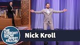 Watch Late Night with Jimmy Fallon - Nick Kroll Kroller-Skates onto The Tonight Show Online