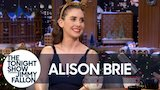 Watch Late Night with Jimmy Fallon - Alison Brie's GLOW Co-Stars Freaked Out Over Her Golden Globe Nomination Online
