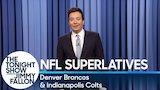 Watch Late Night with Jimmy Fallon - Tonight Show Superlatives: 2017 NFL Season - Broncos and Colts Online