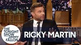 Watch Late Night with Jimmy Fallon - Ricky Martin Cried When He First Saw Edgar Ramirez as Gianni Versace Online