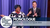 Watch Late Night with Jimmy Fallon - Yamaneika Saunders on Oprah 2020 - Monologue Online