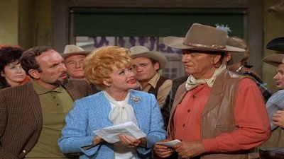 The Lucy Show - Lucy and John Wayne