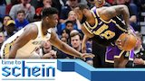 Watch CBS Sports - LeBron James reminds Zion Williamson who the better player is | Time to Schein Online