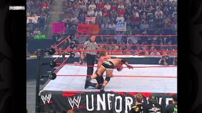 WWE Goldberg The Ultimate Collection - Unforgiven September 21, 2003 World Heavyweight Championship Match Goldberg Vs. Triple H