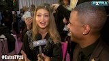 Watch Extra - Gigi Hadid Talks Rocking 'Huge' Angel Wings at Victoria's Secret Fashion Show Online