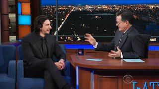 Watch The Late Show with Stephen Colbert Season 2017 Episode 197 - Adam Driver John Ea... Online