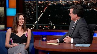 Watch The Late Show with Stephen Colbert Season 2018 Episode 58 - Aubrey Plaza Rainbo... Online