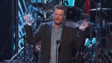Watch People's Choice Awards - Blake Shelton accepts The People's Choice award for