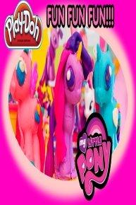 My Little Pony Disney Princess Play-Doh Tutorials