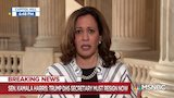 Watch The Beat with Ari Melber - Sen. Kamala Harris: Trump's intent
