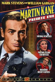 Martin Kane, Private Eye
