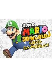 Super Mario 3D World Luigi Gameplay