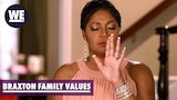 Watch Braxton Family Values - Tearful Trina Reacts to Family Conflict | Braxton Family Values | WE tv Online