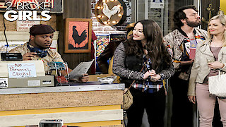 Watch 2 Broke Girls Season 6 Episode 17 - And the Dad Day Afte...Online