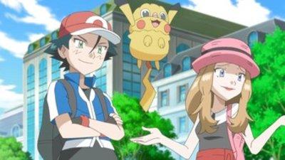 Watch Pokemon Season 17 Episode 28 Heroes Friend And Faux